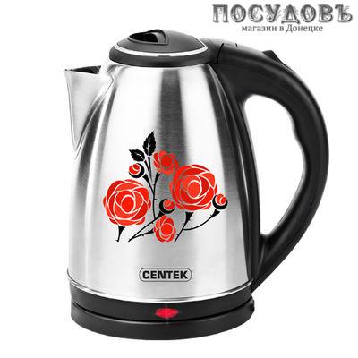 Centek CT-1068 Ros электрочайник сталь нержавеющая 2000 Вт 2000 мл