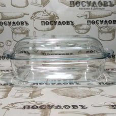 Гусятница Simax Classic 7356-7366 365×208×136 мм 3,2+2,3 л жаропрочное стекло (Чехия) 2 пр.