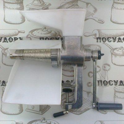 Алюминиевая механическая соковыжималка Мотор Сич СБА-1 шнековая струмок