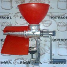 Чугунная механическая соковыжималка Мотор Сич СБЧ-1 шнековая струмок
