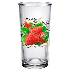 ДекоСтек Ягода Малина  146-Д высокий стакан 250 мл 6 шт