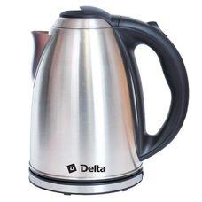 Delta DL-1032 электрочайник 2000 Вт, 2000 мл, корпус: сталь нержавеющая, Россия, гарантия 1 год