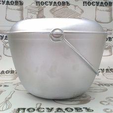 Казан походный алюминиевый Kukmara кп40 4 л крышка-сковорода