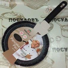 KING Hoff KH-1127 блинная сковорода 22 см мраморное покрытие индукция