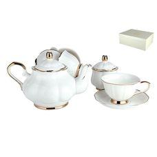 Коралл Грация  TS-W чайный сервиз 14 предметов