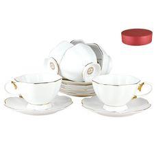 Коралл Натали V12G94101 чайный набор 12 предметов