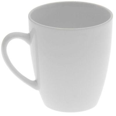 Кружка Кубаньфарфор белая фаянс 0177 гр.Б 370 мл