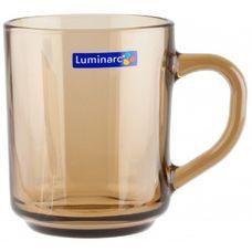 "Luminarc ""Directoire"" H9184 кружка, цвет Eclipse, 250 мл, стекло упрочненное, без упаковки, Франция 1 шт"
