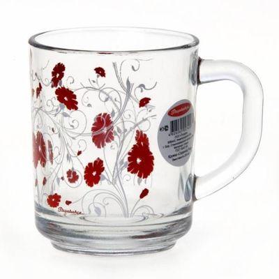 Кружка Pasabahce Red Serenade 55029 250 мл 1 шт