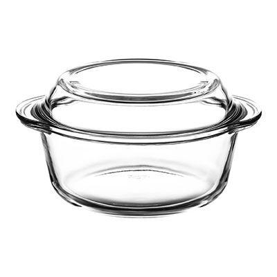 Borcam 59023 кастрюля стекло жаропрочное 1,45 л, мм, с крышкой-формой