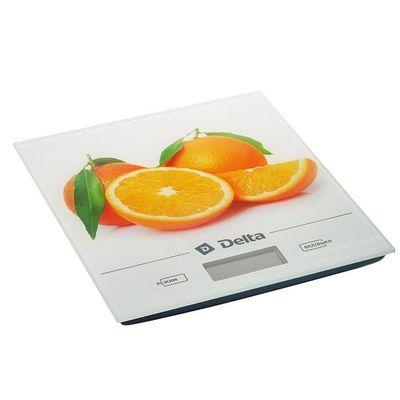 """Кухонные весы-платформа Delta KCE-28 """"Апельсин"""" 5 кг"""