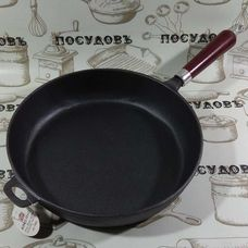 Литая чугунная сковорода KING Hoff KH-1009 30 см