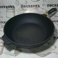 Литая чугунная сковорода Maysternya T203 26 см