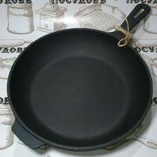 Литая чугунная сковорода Maysternya T204 28 см