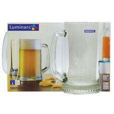 Luminarc Dresden h5116 пивная кружка 500 мл 2 шт
