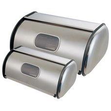 Набор из двух хлебниц Maestro Raibow MR1675 нержавеющая сталь