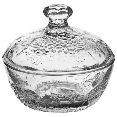 Сахарница Pasabahce Piknik 97556 с стеклянной крышкой 350 мл 1 шт
