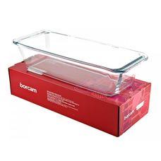 Borcam 59104 форма для выпечки, стекло жаропрочное, 310×124×70 мм, 1630 мл