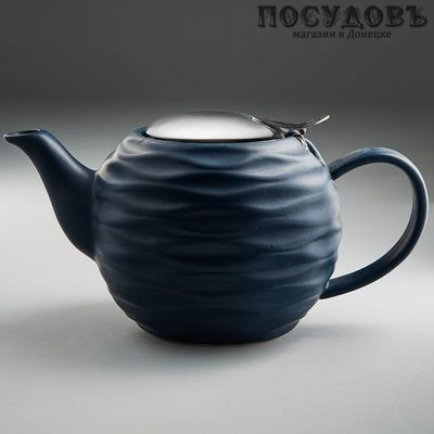 Rosario Ф19-004R керамический заварочный чайник 800 мл с ситом