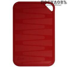 Giaretti Bono GR1497СТ доска разделочная, материал полипропилен 250×160 мм, цвет сочный томат