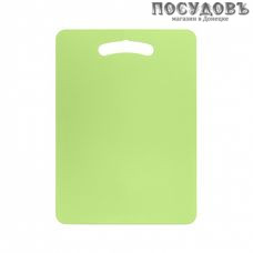 Бытпласт FilAlex 437210509 доска разделочная, материал полипропилен 270×370 мм, цвет зеленый