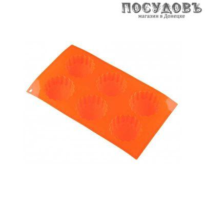 KING Hoff KH-4644 прямоугольная форма для выпечки кексов, силикон 290×170×28 мм