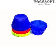 КНР 16523-1 набор форм для выпечки кексов, силикон, Ø70×35 мм, 12 шт.