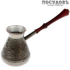 Пятигорск Ромашка 6774-850, турка 850 мл, материал медь, Россия, без упаковки 1 шт.
