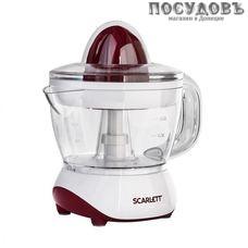 Scarlett SC-JE50C06 cоковыжималка электрическая для цитрусовых, 25 Вт, 700 мл