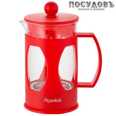 Alpenkok АК-709/60 френч-пресс, стекло закаленное, 600 мл, Китай, 1 шт