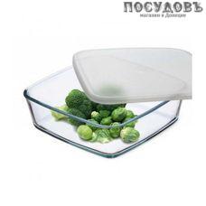 """Simax """"Classic """" 7466/L, квадратная форма для выпечки, упрочненное стекло, 210×210×65 мм, Чехия, без упаковки 2 предмета"""