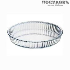 Borcam 59014SL, круглая форма для выпечки, жаропрочное стекло, Ø320×50 мм, 2 950 мл, Турция 1 шт