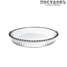 Borcam 59044, круглая форма для выпечки, жаропрочное стекло, Ø260×45 мм, 1 720 мл, Турция, в упаковке 1 шт