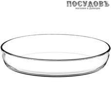 Borcam 59074, овальная форма, стекло жаропрочное, 345×248×64 мм, 3200 мл, Турция, без упаковки 1 шт.