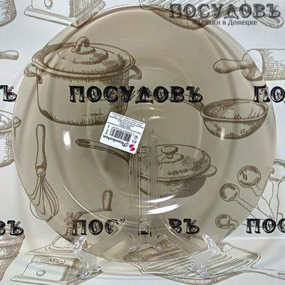 Pasabahce Invitation 10328/1012428/1009512 SL тарелка обеденная, стекло упрочненное, цвет бронзовый