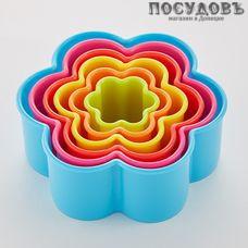 Alpenkok Цветок АК-623Р/6 формы для печенья, полипропилен 6 шт.