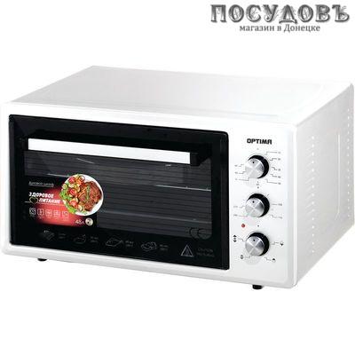 Optima OF-48W электрическая печь отдельностоящая 1600 Вт 48 л, без конфорок, белая