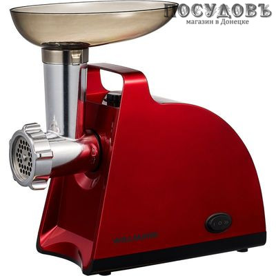 WillMark WMG-2000R мясорубка электрическая с насадками 2000 Вт, цвет красный