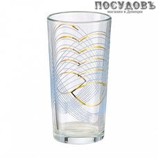 ПТТ Парабола 1256/220, стакан высокий 230 мл, материал стекло, Россия, в упаковке 6 шт.