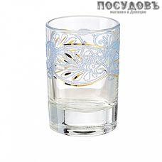 ПТТ Листья 1022/230, стопка 60 мл, материал стекло, Россия, в подарочной упаковке 6 шт.