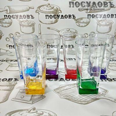 Pasabahce Baltic Rainbow 41300 стакан высокий 305 мл 6 шт.