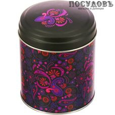 РФЖУ Бута 080-00699 банка для хранения с крышкой,Ø99×110 мм, 800 мл, жесть, Россия, без упаковки 2 пр.
