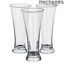 Pasabahce Pub 42199, стакан пивной, Ø74×199 мм 300 мл, материал стекло, Россия, в упаковке 3 шт.