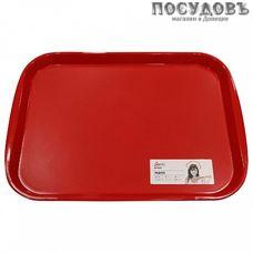 Giaretti Bono GR1441СТ поднос, полипропилен, 470×355 мм, сочный томат, Россия 1 шт.