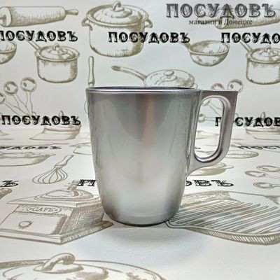 Luminarc Flashy Breakfast J1118 кружка стекло упрочненное 250 мл, 1 шт.