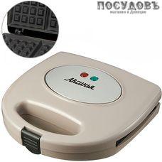 Аксинья Венская КС-5002 вафельница электрическая 215×125 мм, 800 Вт, цвет бежевый
