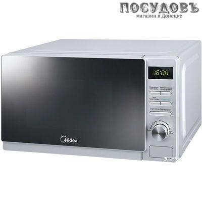 Midea AG720C4E-S микроволновая печь отдельностоящая 700 Вт, 20 л, цвет серебро