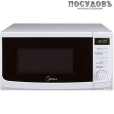 Midea AM820CWW-W отдельностоящая микроволновая печь, 800 Вт, обычная (соло), 20 л, белая