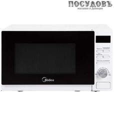 Midea AM720C4E-W отдельностоящая микроволновая печь, 700 Вт, 20 л, белая