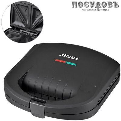 Аксинья КС-5100 сэндвичница 210×120 мм, 800 Вт, цвет черный